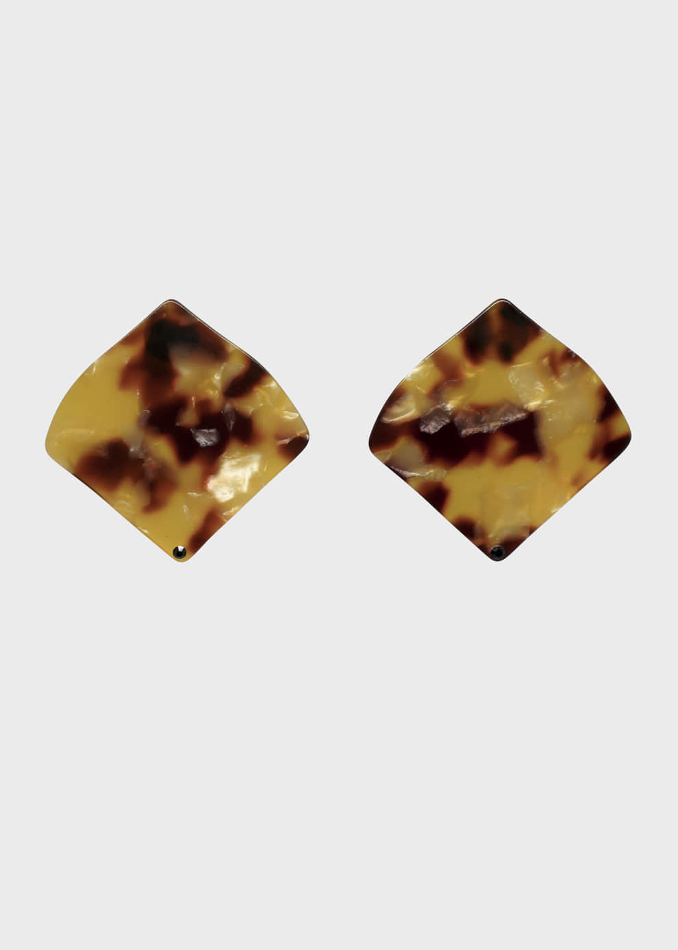 Big Square Leopard Acrylic Earring 3 color